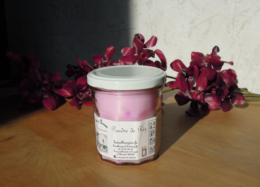bougies de charroux poudre de riz mesideesnaturelles