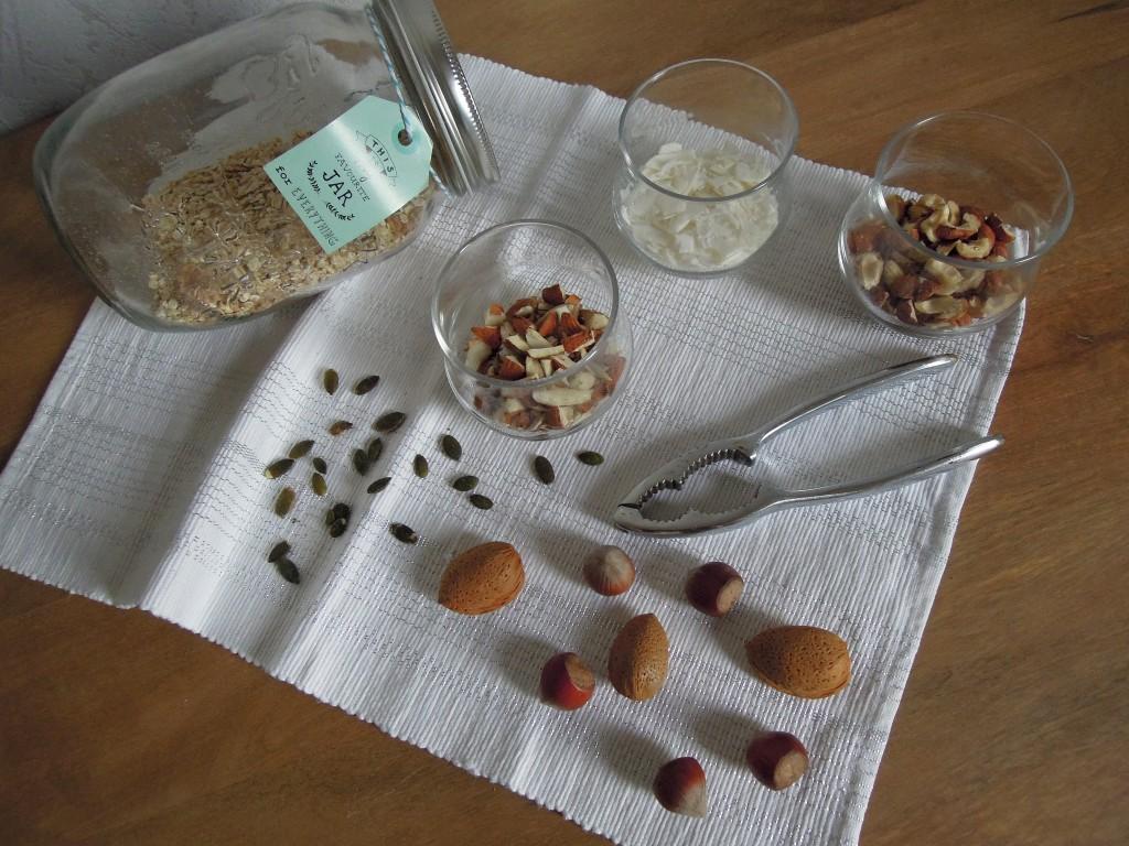 ingrédients granola mesideesnaturelles
