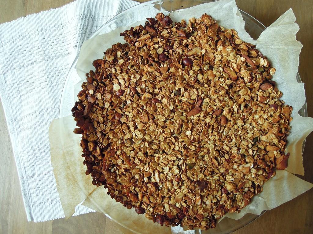 granola doré mesideesnaturelles