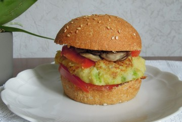 burger vegan mesideesnaturelles