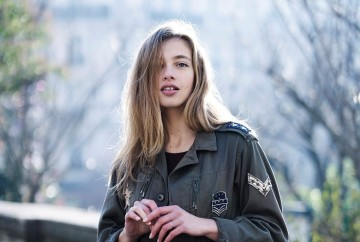 mode féminine militaire ekyog printemps