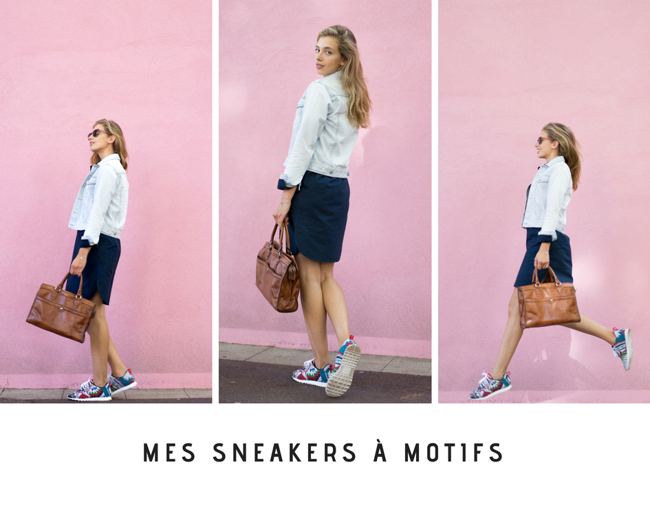 avec quoi porter sneakers à motifs -mesideesnaturelles-écofriendly-moderesponsable-slowfashion