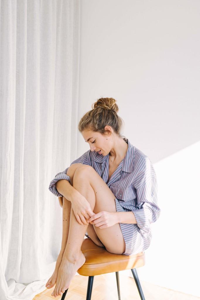 mes idees naturelles garde robe minimaliste chemise oversize