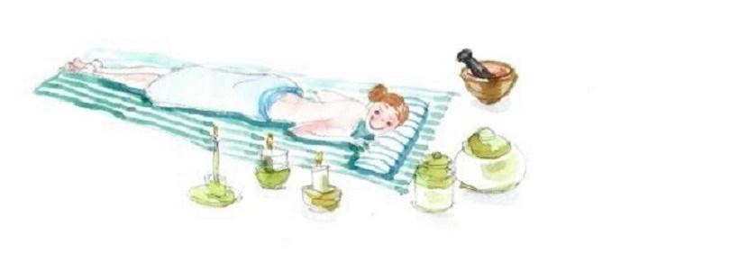 massage ayurvédique et schiatsu chez iFortie, institut BIO