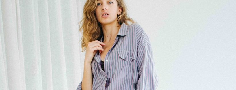 chemise oversize mes idees naturelles look responsable garde robe minimaliste chemise d'homme